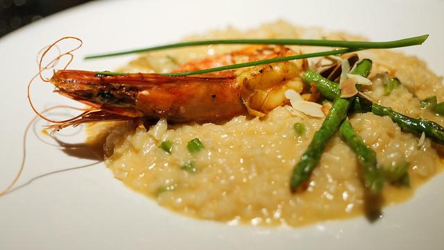 Italian carnaroli rice, king prawn, fortina cheese, toasted almond