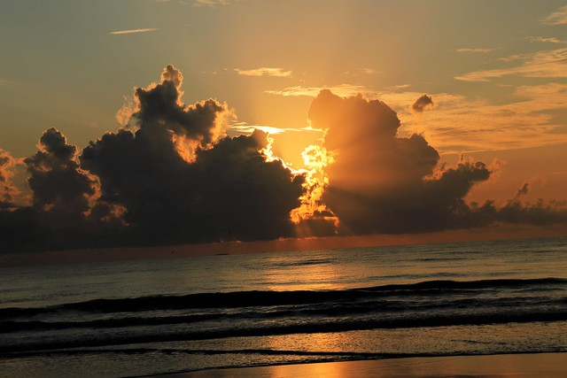 The Sun Bursting Through