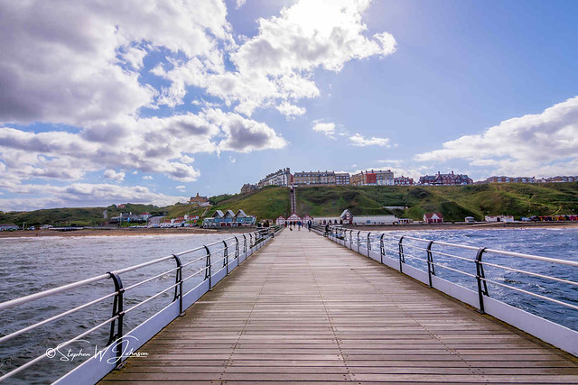 SJ2_1817 - Saltburn Pier and seafront