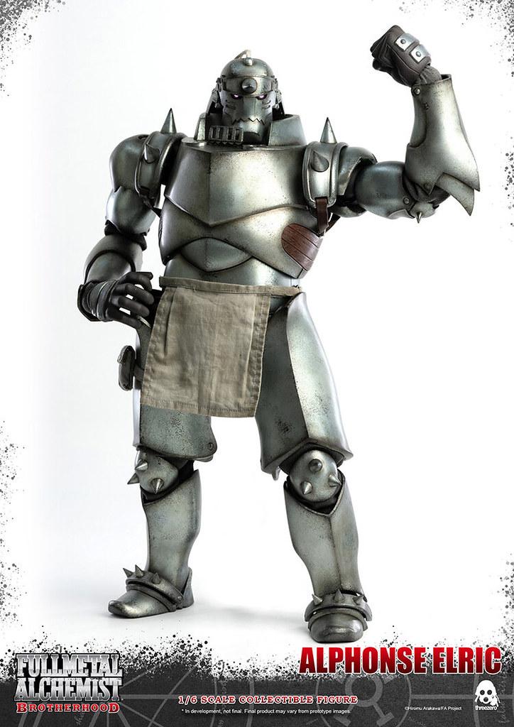 為追求真理而戰!threezero《鋼之鍊金術師》愛德華‧艾力克&阿爾馮斯‧艾力克 1/6 可動立體人形(エドワード・エルリック&アルフォンス・エルリック 1/6スケール可動フィギュア)