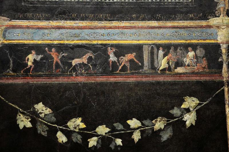 03 Фресковый фриз триклиния виллы Октавиана Августа (или Марка Агриппы)