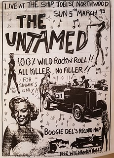 The Untamed - The Ship, Northwood, Middx - Sun 5th March 1995