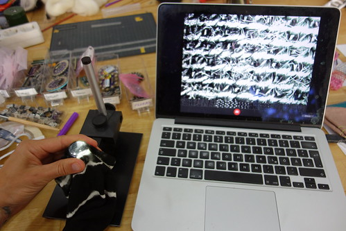 Microscope image process