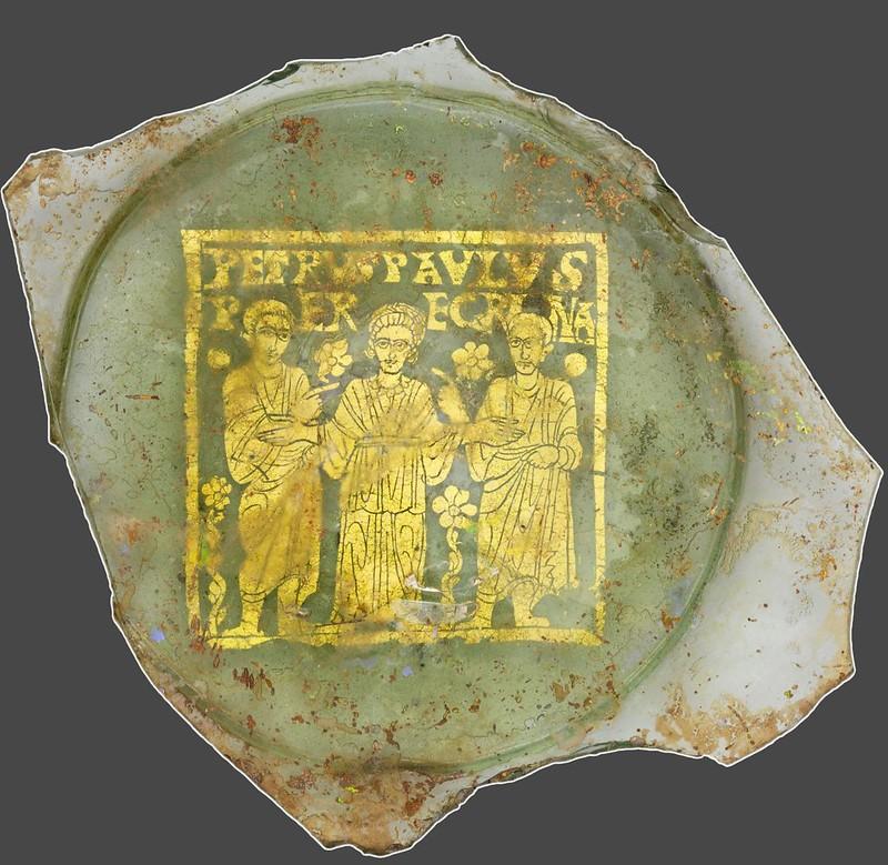 13 Апп_Петр и Павел, Перегрина - церковь Торжествующая.  Римская Империя III в