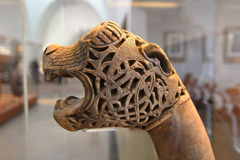 63 Голова дракона Фрагмент ладьи IX в