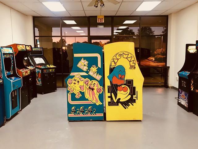 Scenes from Reclaim Arcade