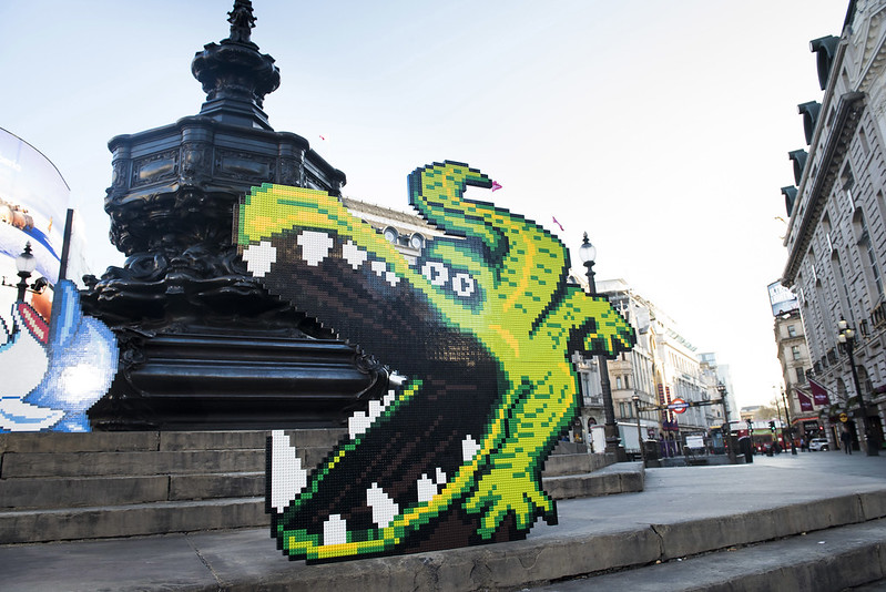 Lego London Build @ Piccadilly Circus