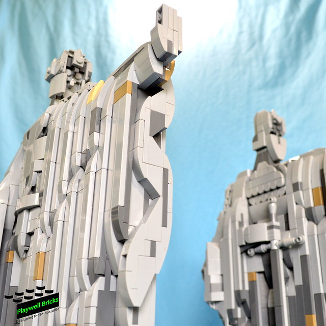 LEGO Lord Of The Rings Middle-Earth Argonath
