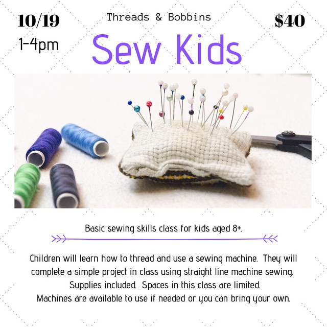 Sew Kids October