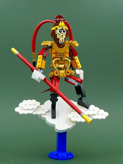 Sun Wukong, known in the west as the Monkey King.
