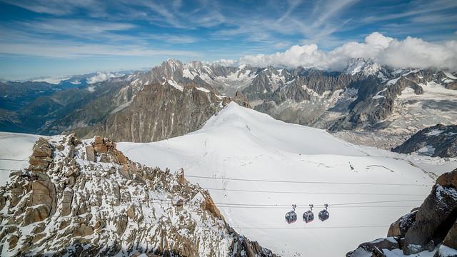 Téléphérique du Mont Blanc.