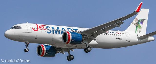 Airbus A320-200Neo / JetSMART (Colibri de arica)