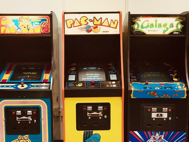 Scenes from a Reclaim Arcade