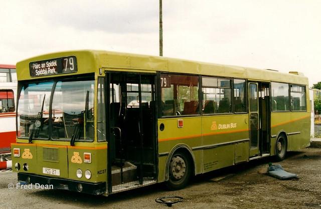 Dublin Bus KC27 (AZG27).