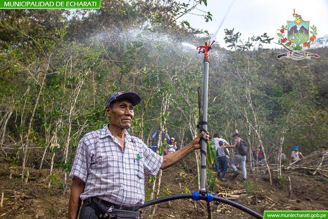 Beneficiarios del proyecto de riego de Lucmapata son capacitados en gestión de sistemas de riego