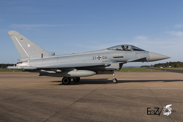 31+04 German Air Force (Luftwaffe) Eurofighter Typhoon