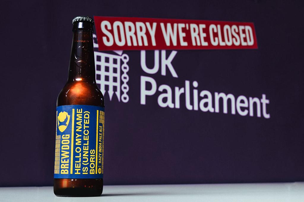 BrewDog выпускает пиво в знак протеста против действий Бориса Джонсона