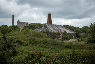 Smithy and Engine House, Wheal Busy