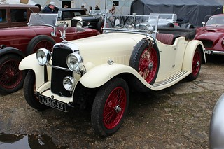 017 Alvis Silver Eagle SF 16-95 4 Seat Tourer (1934)