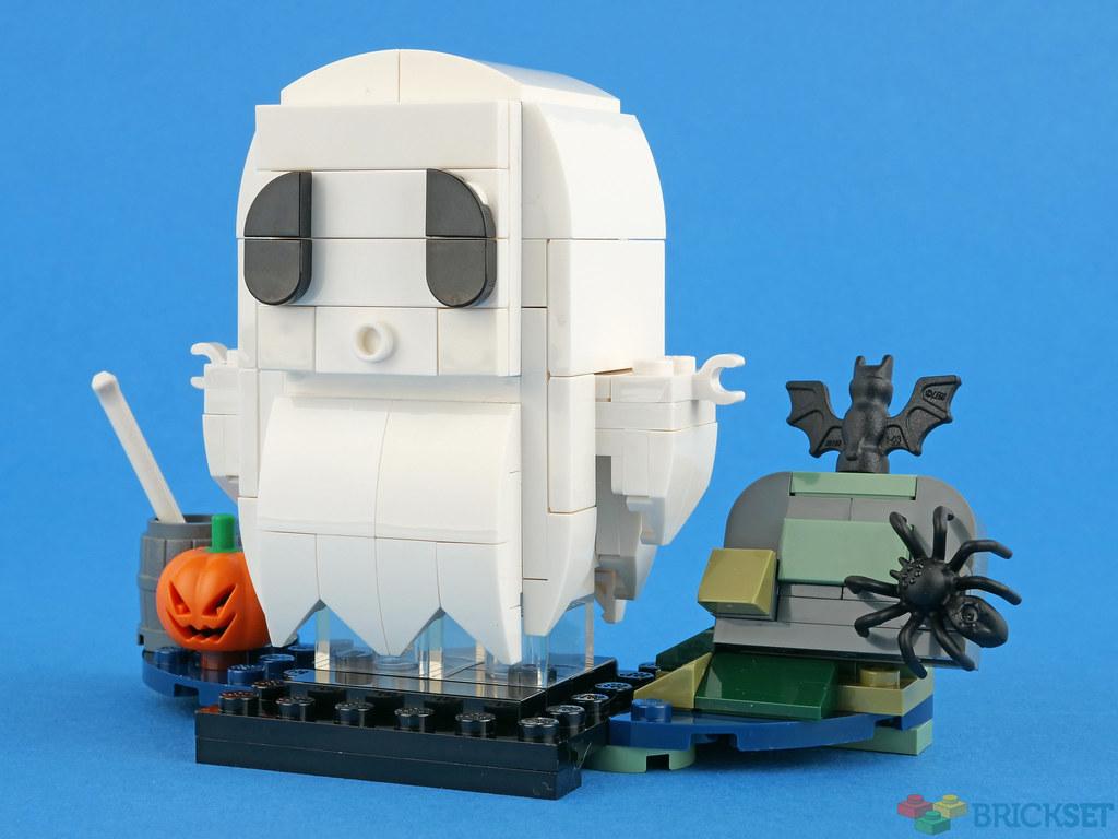 LEGO BrickHeadz 40351 Halloween Ghost review