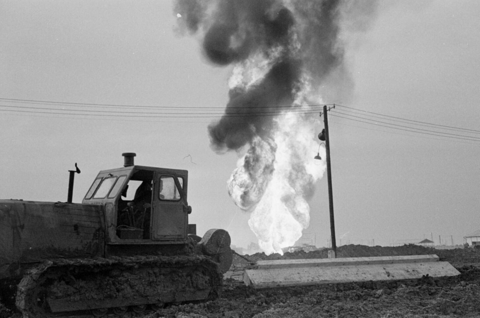 Soha nem látott felvételek az algyői olajkatasztrófáról
