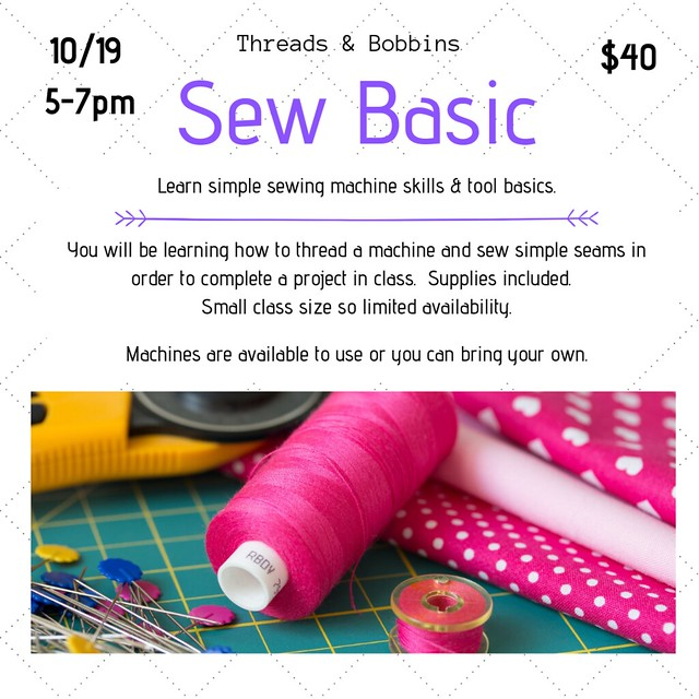 Sew Basic with date