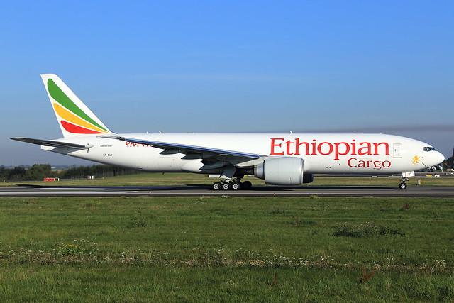 Ethiopian Cargo  Boeing 777-F60 ET-AVT