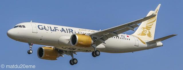 Airbus A320-200Neo / Gulf Air