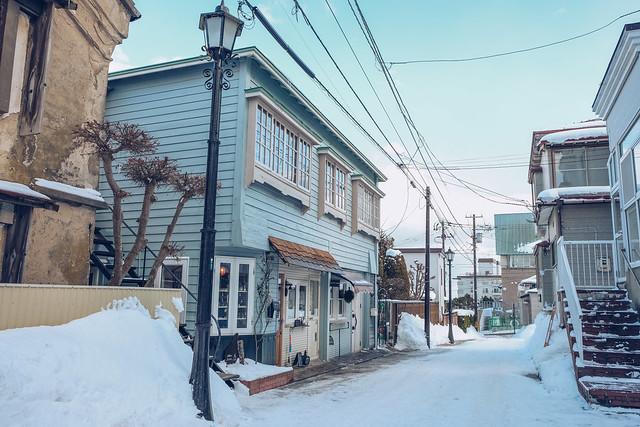 Hakodate Winter Street