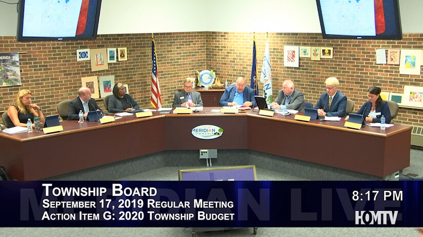 Discussion Continues Over 2020 Township Budget