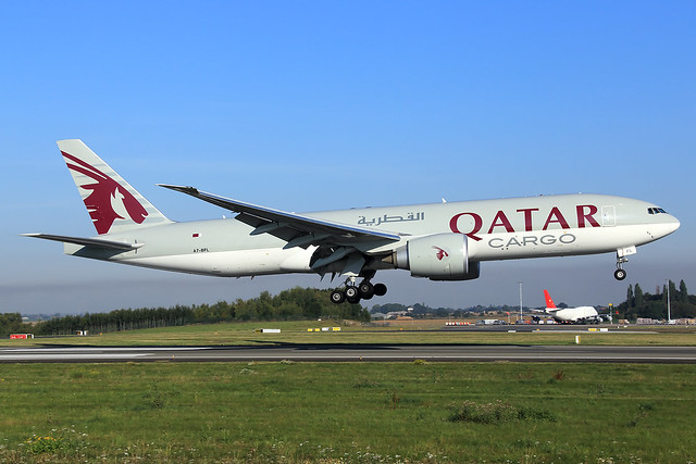 Qatar Airways Cargo  Boeing 777-FDZ A7-BFL