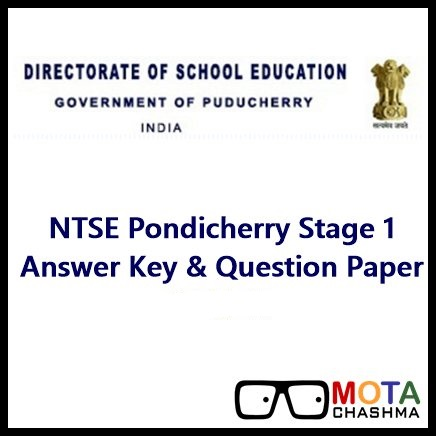 ntse puducherry answer key