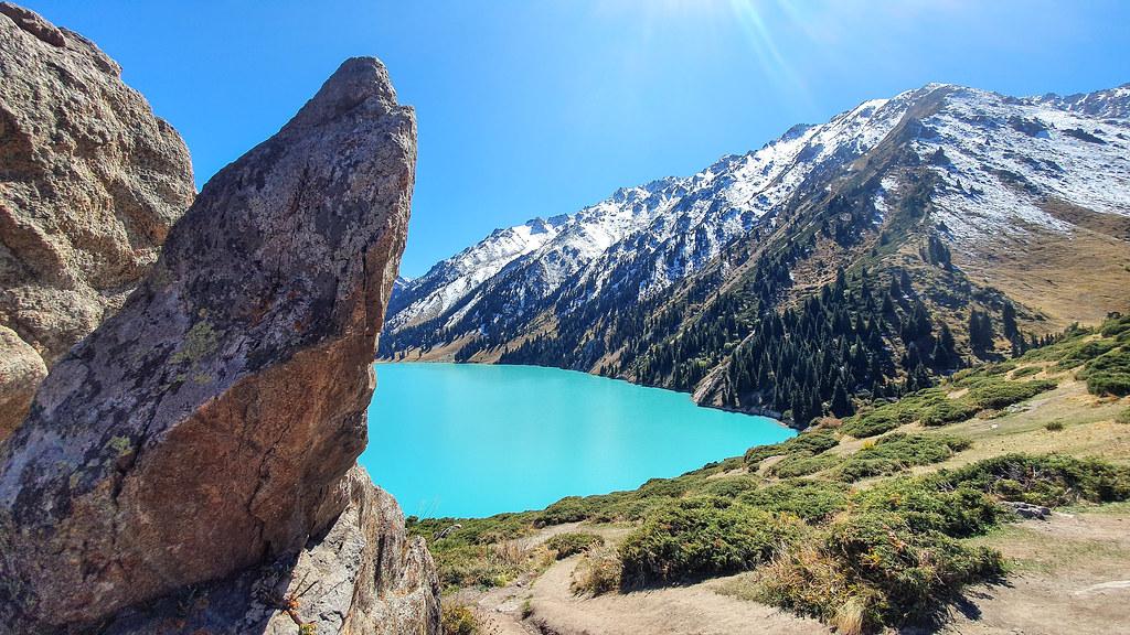 Big Almaty Lake (Bolshoye Almatinskoye Ozero), Kazakhstan