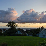 18. September 2019 - 19:40 - Clouds over Öresund tonight