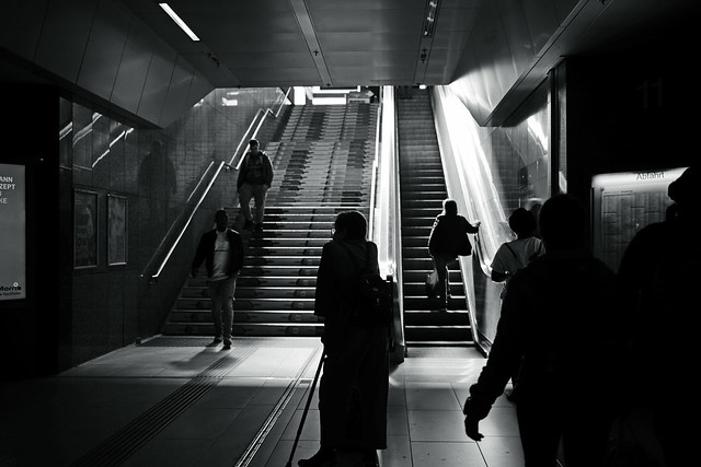 passengers@main station, Düsseldorf