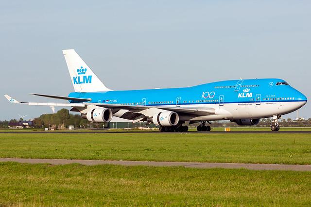 PH-BFI Boeing 747-406(M) KLM Royal Dutch Airlines
