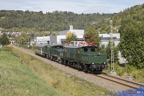 E94 088 . IGSEE + Ce 6-8 14305 . SBB Historic . Aistaig, Oberndorf am Neckar . 16.09.19.