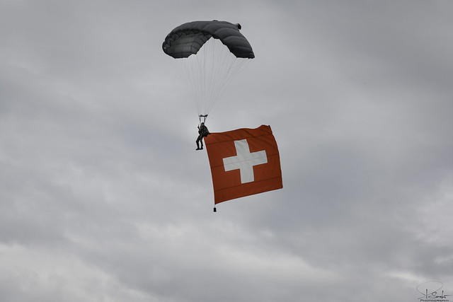 Paras Schweizer Armee - Zigermeet 2019 - Mollis - Switzerland