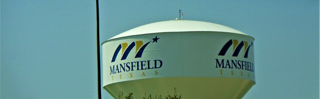 MANSFIELD, TEXAS WATER TOWER