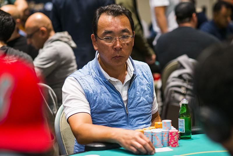 Dong Ji Eliminated By Ren Lin Main Tour Wpt Borgata Poker Open Season 2019 2020 3 15 000 10 000 15 000 World Poker Tour