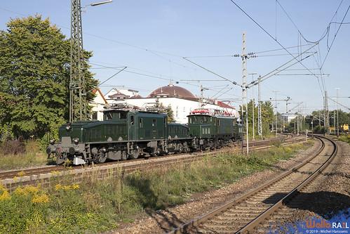 Ce 6-8 14305 . SBB Historic + E94 088 . IGSEE .  Göppingen . 15.09.19.