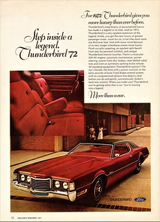 1972 Ford Thunderbird (Canadian Ad)