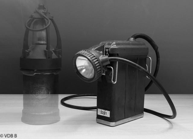 Mijnwerkerslamp elektrisch