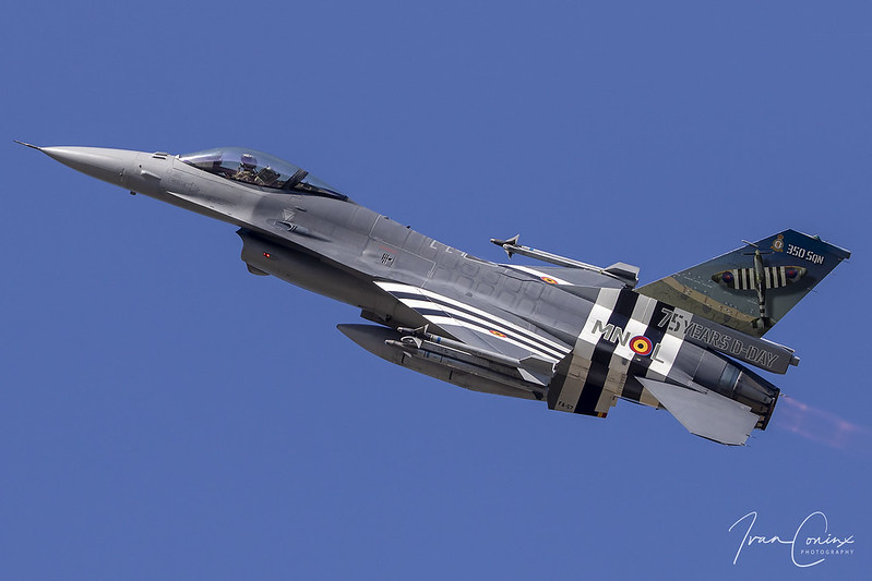 General Dynamics F-16AM Fighting Falcon – Belgium-Air Force – FA-57 – Kleine Brogel (EBBL) – 2019 09 14 – Inflight – 01 – Copyright © 2019 Ivan Coninx