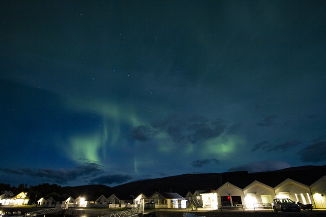 Aurora B with some clouds 1