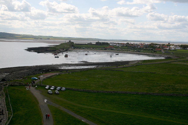 Holy Island from Lindisfarne Castle