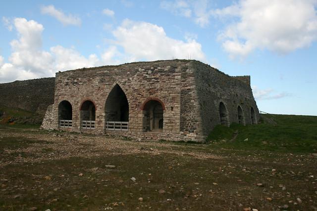 Old Lime Kilns on Holy Island