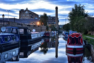 Broad Canal By Night