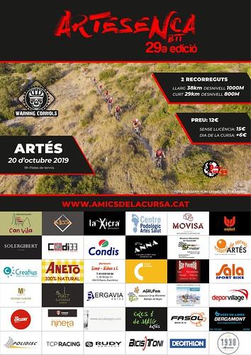 Cartell Artesenca 2019 Patrocinadors