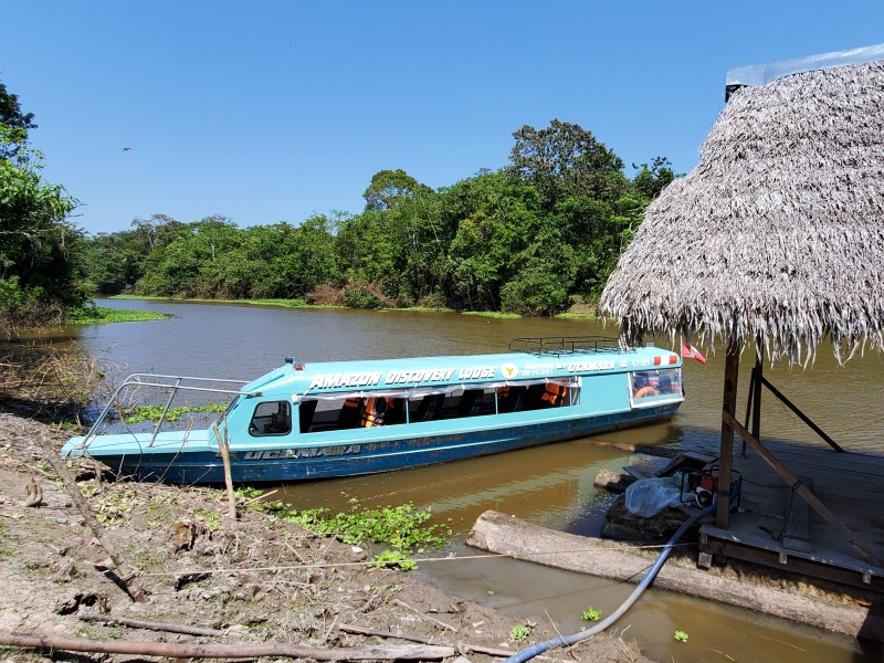 Amazon Discovery Lodge boat